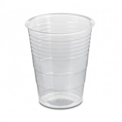 Vasos Biodegradables PLA Transparentes 200ml (50 Uds)