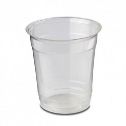 Vasos Biodegradables PLA Transparentes 230ml (50 Uds)