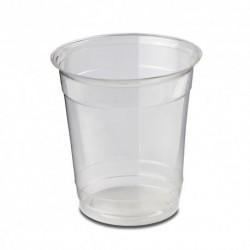 Vasos Biodegradables PLA Transparentes 230ml (1.250 Uds)