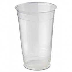 Vasos Biodegradables PLA Transparentes 330ml (50 Uds)