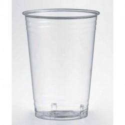 Vasos Biodegradables PLA Transparentes 390ml (50 Uds)