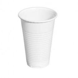 Vasos de Plástico PP Blancos 200ml (100 Uds)