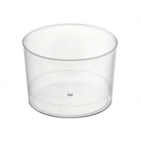 Vaso Chiquito Plástico PS 210 cc Transparentes (Caja 480 Uds)
