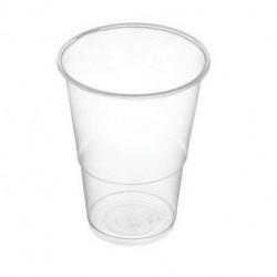 Vaso de Plástico PP Transparentes 250ml (50 Uds)