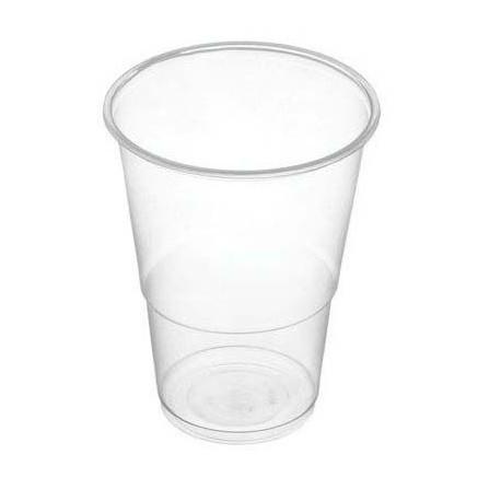 Vasos de Plástico 250 cc Transparentes