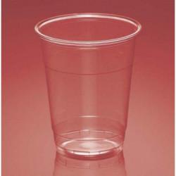 Vasos de Plástico PP Transparentes Plus 300ml (50 Uds)